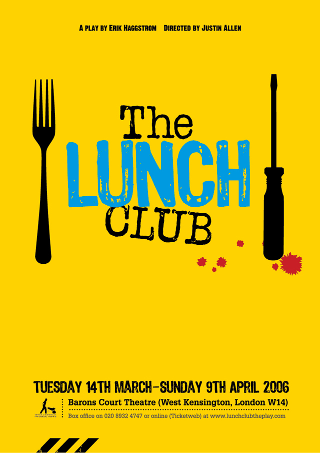 lunch club theatrical poster