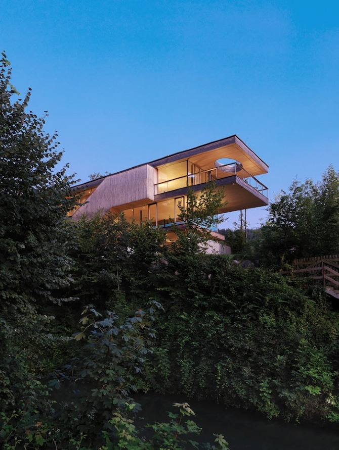 a robert%20fessler Haus am Berg Isel by Elmar Ludescher Architect on thisispaper.com