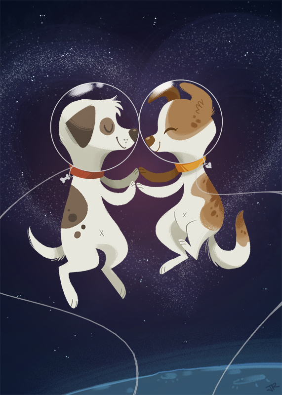dog in space apollo - photo #1