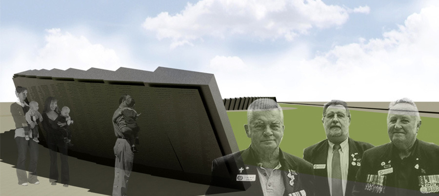PROJECT VIETNAM VETERANS MEMORIAL WALL ENLOCUS