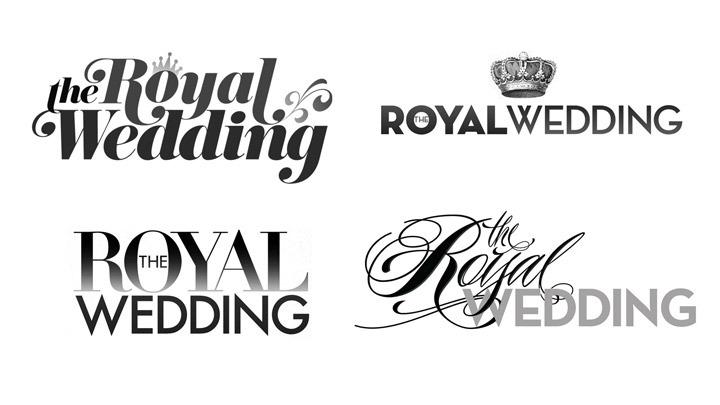 The Royal Wedding Promo Boards Amp Logos Kruegeresque