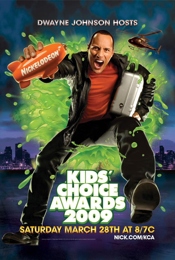 Kids Choice Awards 2009 Slime